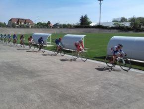 12/04/2017 Stage piste au vélodrome de Colmar