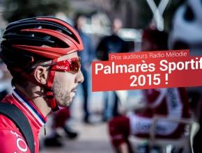 Palmarès sportif 2015 - Votez pour nos sportifs